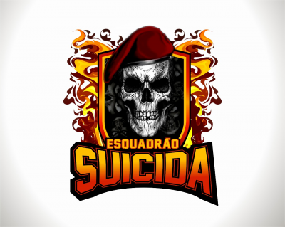 Esquadrão Suicida Paintball Team